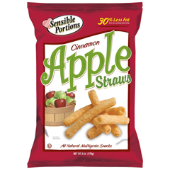 BFVHFGHG30378 - Sensible PortionsChips Apple Cinnamon Straws