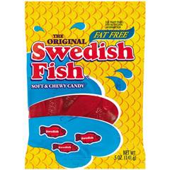 BFVJAR1506208 - Cadbury AdamsSwedish Fish Peg Bag