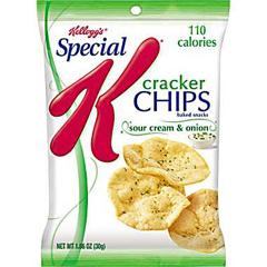 BFVKEE72274-BX - Kellogg'sSpecial K™ Cracker Chips Sour Cream & Onion