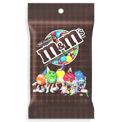 BFVMMM01731 - M & M MarsM&M's Milk Chocolate Peg Pack