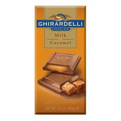 BFVMSD60764 - GhiradelliMilk Chocolate w/Caramel Bar