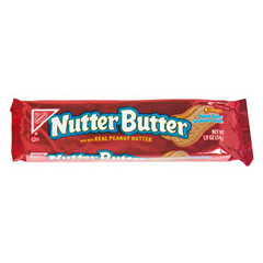 BFVNFG037450 - NabiscoNutter Butter Sleeve Cookies