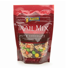 BFVNFG07862 - Wrigley'sPlanters Trail Mix Nut & Chocolate, 6 oz, 12/CS