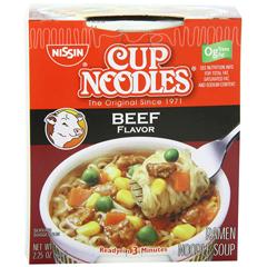BFVNIS23001 - NissinBeef Flavor Cup Noodles