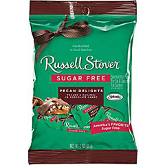 BFVRSC9625N - Russell Stover - Sugar Free Pecan Delights Peg Bag