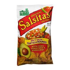 BFVSKG260155 - Snack King - Tortilla Chips Salsitas Rounds
