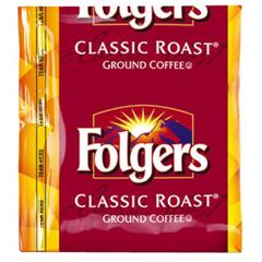 BFVSMU06127 - FolgersCoffee Classic Roast Cinch Bag