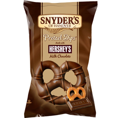 BFVSNY084330 - Snyder'sHershey Milk Chocolate Covered Pretzels