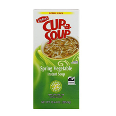 BFVTJL03486-BX2 - LiptonCup-A-Soup Spring Vegetable
