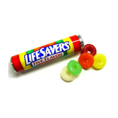 BFVWMW00220-BX - Wrigley's - Lifesavers 5 Flavor Singles