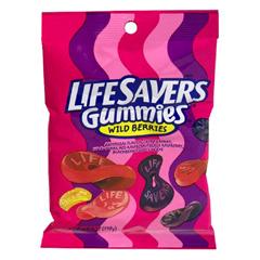 BFVWMW08344 - Wrigley'sLifesaver Gummi Mixed Berry Peg Pack