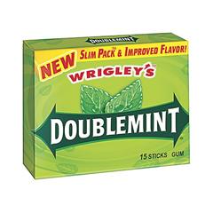 BFVWMW21735-BX - Wrigley'sDoublemint Gum Slim Pack 15 Stick