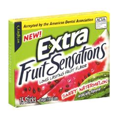 BFVWMW22034 - Wrigley'sExtra Gum Sweet Watermelon Slim Pk