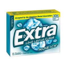 BFVWMW22036-BX - Wrigley's - Extra Gum Polar Ice Slim Pack