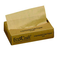 BGC016008 - Bagcraft Papercon EcoCraft Interfolded Soy Wax Deli Sheets