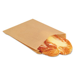 BGC300100 - Bagcraft Papercon EcoCraft Grease-Resistant Sandwich Bags