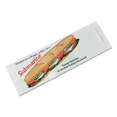 BGC300435 - Bagcraft Papercon® Sub Sandwich Bags