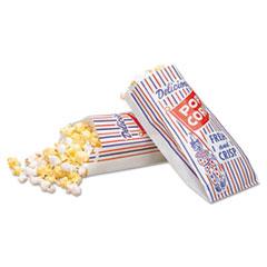 BGC300471 - Packaging Dynamics Bagcraft Papercon® Pinch-Bottom Paper Popcorn Bag
