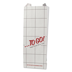 BGC300506 - Bagcraft ToGo! Foil Insulator Deli & Sandwich Bags