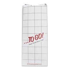 BGC300507 - Bagcraft ToGo! Foil Insulator Deli & Sandwich Bags