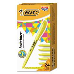 BICBL241YW - BIC® Brite Liner® Highlighter