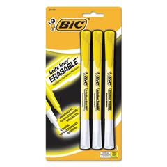 BICBLERP31YW - BIC® Brite Liner® Erasable Highlighters