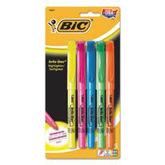 BICBLP51WASST - BIC® Brite Liner® Highlighter