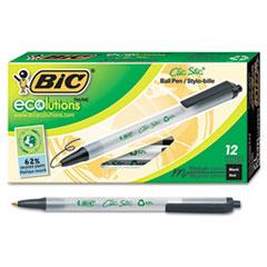BICCSEM11BK - BIC® Ecolutions™ RT Retractable Ballpoint Pen