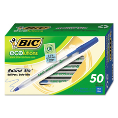 BICGSME509BE - BIC® Ecolutions® Round Stic® Ballpoint Pen
