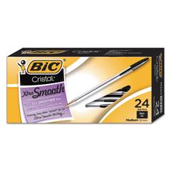 BICMS241BK - BIC® Cristal® Xtra Smooth Ballpoint Pen