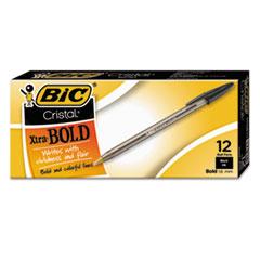 BICMSB11BK - BIC® Cristal® Bold Ballpoint Pen