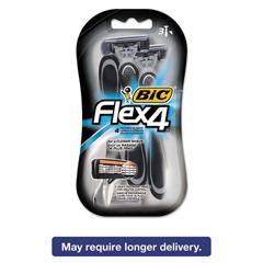 BICS4FMP31 - BIC® Flex 4® Disposable Men's Razor