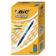 BICSCSM361BE - BIC® Soft Feel® Retractable Ballpoint Pen
