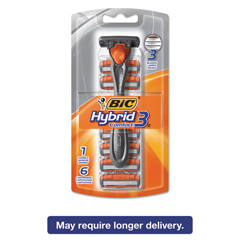 BICSH3KP6C - BIC® Hybrid 3 Comfort™ Disposable Men's Razor
