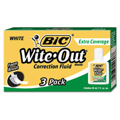 BICWOFEC324 - BIC® Wite-Out® Brand Extra Coverage Correction Fluid