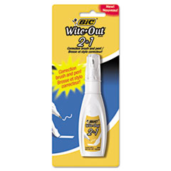 BICWOPFP11 - BIC® Wite-Out® Brand 2 in 1 Correction Fluid