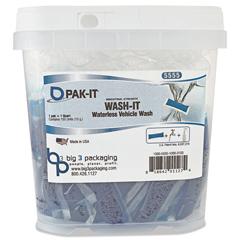 BIG555520003400 - PAK-IT® Wash-It Waterless Vehicle Wash