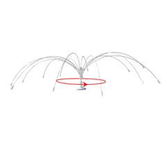 BIRMMBS600SPN - BirdBGone360° 6 Spinning Bird Spider®