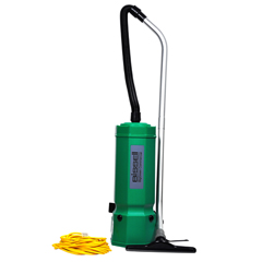 BISBG1001 - BissellBigGreen Commercial High Filtration Backpack Vacuum