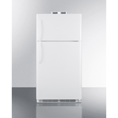 SMABKRF15W - Summit ApplianceAccucold Medical® 15 CU FT Break Room Refrigerator-Freezer, White with NIST Calibrated Alarm/Thermometers