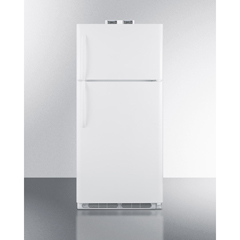 SMABKRF18W - Summit ApplianceAccucold Medical® 18 CU FT Break Room Refrigerator-Freezer, White with NIST Calibrated Alarm/Thermometers