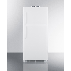 SMABKRF21W - Summit ApplianceAccucold Medical® 21 CU FT Break Room Refrigerator-Freezer, White with NIST Calibrated Alarm/Thermometers
