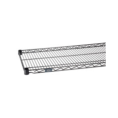 NEXS2424B - Nexel IndustriesBlack Epoxy Finish Wire Shelf