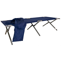 BLAXT-77 - Blantex - 28 x 77 Steel Army Cot with Carrying Bag