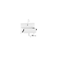 BLI1317878000 - Blickman Industries - Windsor Scrub Sink w/Knee Action Control