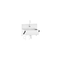 BLI1317878001 - Blickman Industries - Windsor Scrub Sink w/Infrared Water Control
