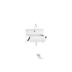 BLI1317878003 - Blickman Industries - Windsor Scrub Sink w/Foot Action Control