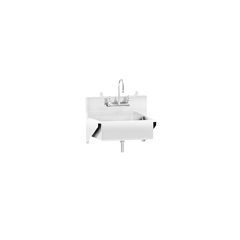 BLI1317878004 - Blickman Industries - Windsor Scrub Sink w/Elbow Action Control