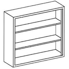 BLI2020435000 - Blickman Industries - Wall Cabinet