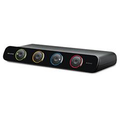 BLKF1DS104J - Belkin® SOHO Four-Port Desktop KVM Switch